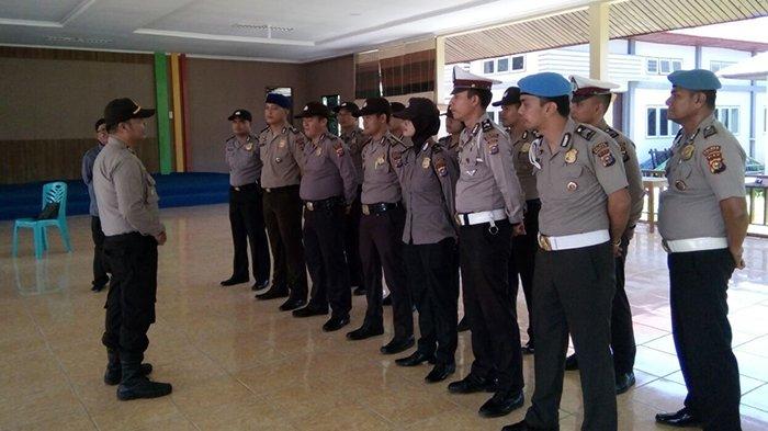 Polres Siapkan Pengamanan Pleno Penghitungan Suara Pilgubri 2018 di KPU Bengkalis