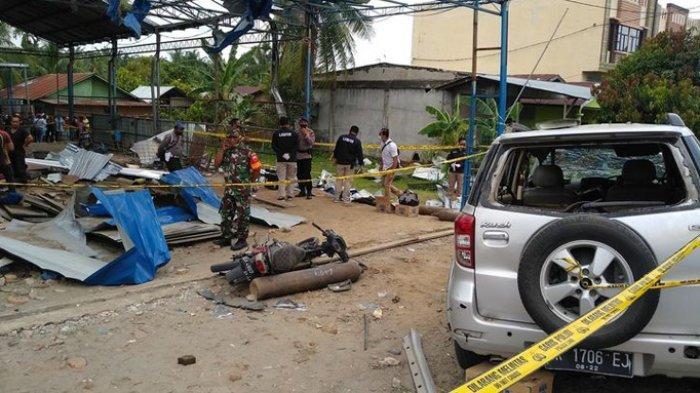 Foto dan Fakta Bengkel Las Luluh Lantak di Deliserdang, 4 Pekerja Tewas dan 9 Orang Luka Berat