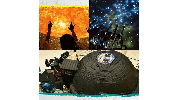 Ajak Anak Berpetualang ke Antariksa, Sekolah Abidari Hadirkan Mobile Planetarium