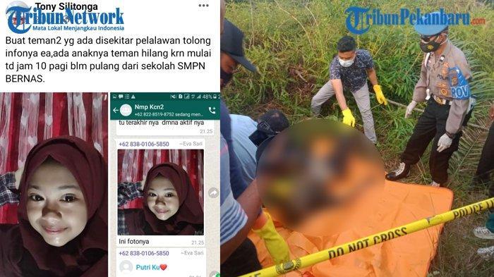 Berawal dari Penemuan Mayat Wanita Tanpa Kepala, Warga Teringat Siswi SMP yang Dilaporkan Hilang