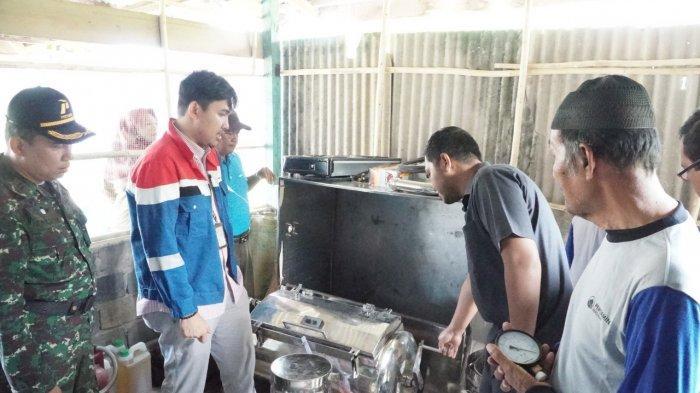 Berdayakan Lansia Tanjung Palas, Pertamina Dumai Launching Program Pelatihan Olahan Aneka Buah
