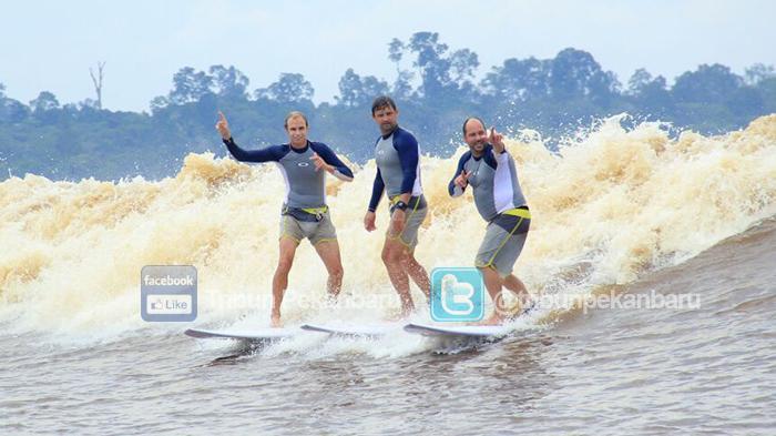 Ombak Bono Teluk Meranti Raih Anugrah Pesona Indonesia 2017, Most Populer Surfing Spot