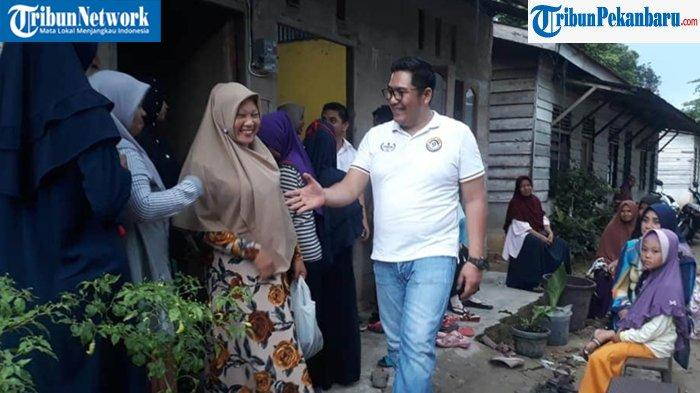 Bertarung pada Pilkada Pelalawan 2020, Abu Mansur Matridi dan Habibi Hapri Optimalkan Sosialisasi