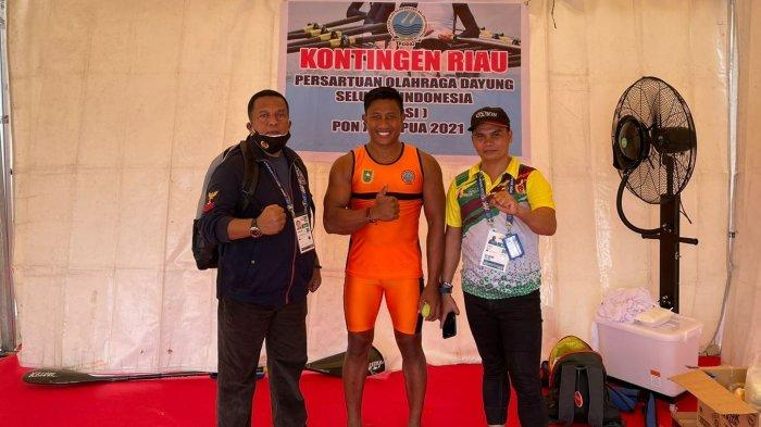 Masuk Final, Besok Atlet Dayung Riau Berpeluang Raih Emas di K1 1000 M PON Papua
