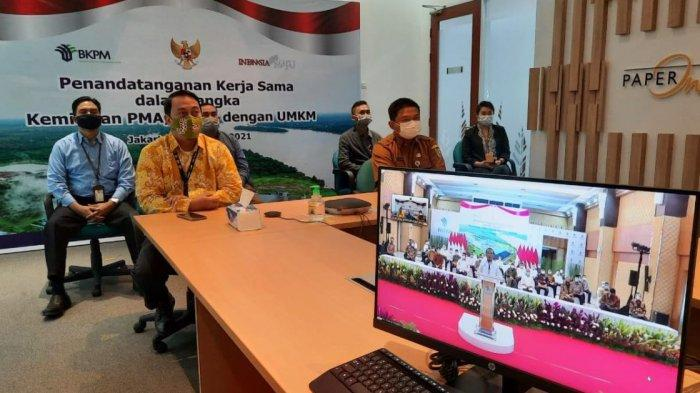Presiden Jokowi Dorong Pelaku UMKM Bersaing Secara Global