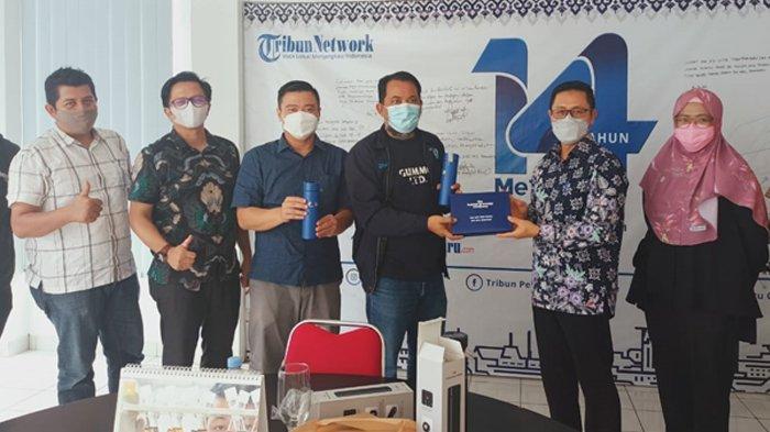 Blok Rokan Kini Dikelola Pertamina Hulu Rokan, PT CPI Bersilaturahmi ke Tribun Pekanbaru