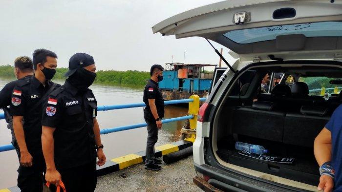 BNNP Riau Gelar Razia di Pelabuhan, Libatkan Anjing Pelacak untuk Deteksi Keberadaan Narkoba