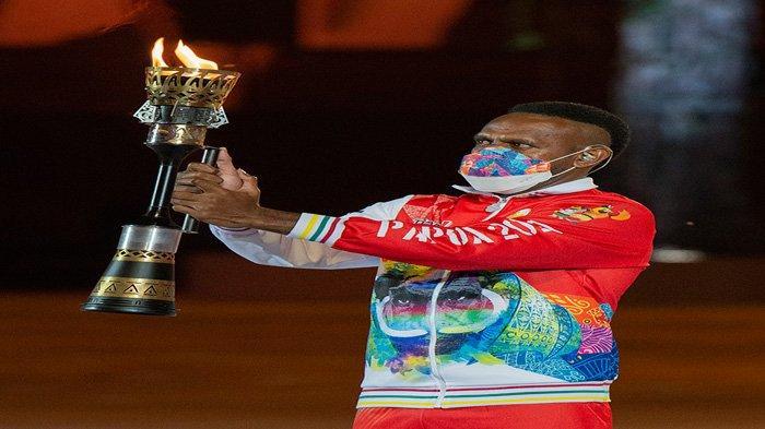 INI Sosok Penyulut Api PON Papua, Bintang Borneo FC Kelahiran Sorong