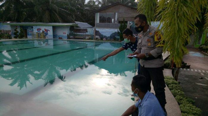 Bocah Tewas Tenggelam di Rohul, Temannya Kaget Sri Yuliani Sudah Mengapung di Kolam Renang