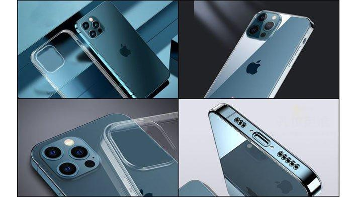 Bocoran iPhone 13 Pro bersama case pelindungnya.