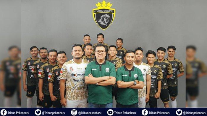 Bola Lokal : Flying Donkeys FC akan Gebrak Pekanbaru dalam Porkua Cup 2019
