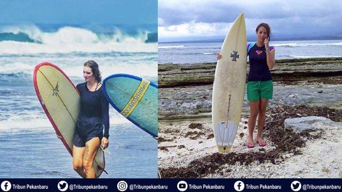 Bono Surfing 2019 di Riau Dibuka Bupati Pelalawan Harris, Ada Dua Peselancar Wanita dari Mancanegara