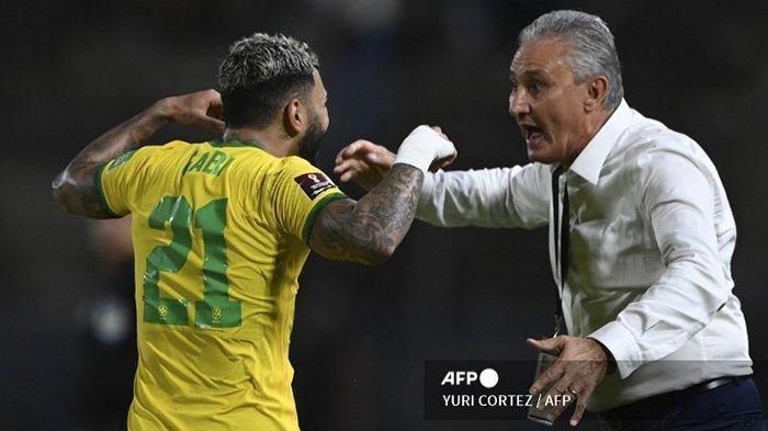 Kolombia vs Brasil Kick Off Pukul 04.00 WIB, Tim Samba Pertahankan Rekor Kemenangan