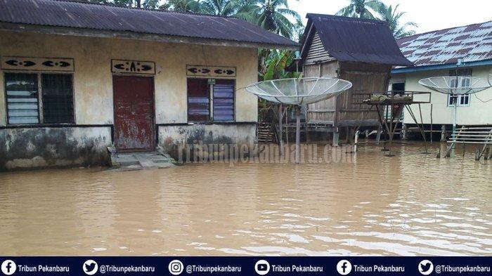 12 Desa di Kuansing Terdampak Banjir di Riau, Dua Desa Sempat Terisolir, Ketinggian Air Capai 60 Cm