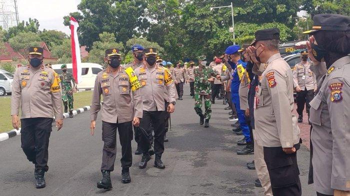 BREAKING NEWS: Kabaharkam Polri ke Polda Riau, Cek Kesiapan Personel dan Peralatan Tangani Karhutla