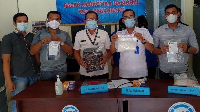 BREAKING NEWS : Kasus Narkoba di Pekabaru, Mantan Suami Kendalikan Janda Edarkan Narkoba dari Lapas