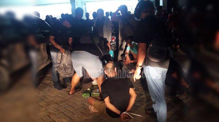 PENANGKAPAN Pelaku Penyelundupan Narkoba ke Riau Diduga dari Malaysia Sempat Menjadi Tontonan Warga