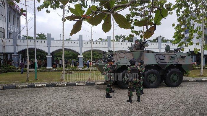 BREAKING NEWS: Kampus UIN Suska LOCKDOWN, 2 Mahasiswa Suspect Corona, Dirawat di RSUD Arifin Achmad
