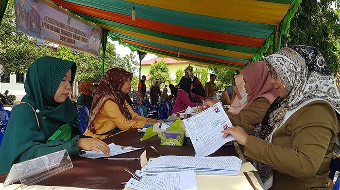 BREAKING NEWS: 800 Peserta CPNS 2019 di Dumai Lakukan Pendaftaran Ulang, Ada dari Sumbar dan Sumut