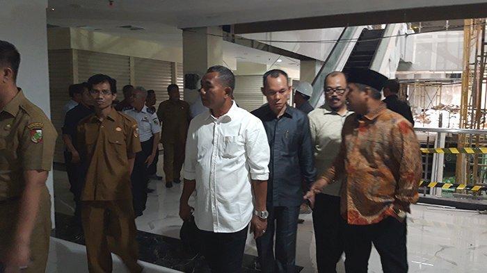 DPRD Pekanbaru Sidak Hari Ini, Pengelola Yakinkan Bahwa STC Sudah Layak Ditempati
