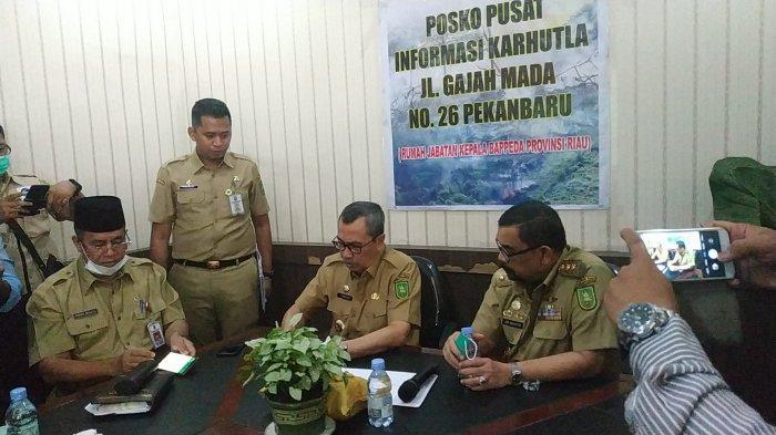 BREAKING NEWS: Gubernur Syamsuar Tetapkan Status Riau Darurat Bencana Pencemaran Udara