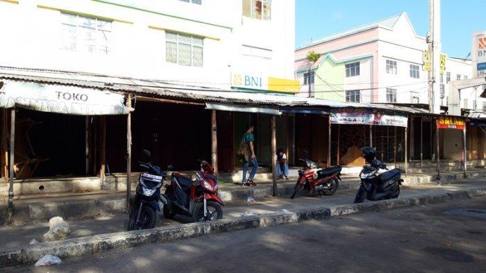 BREAKING NEWS: Pasca Pengosongan TPS, Tim Gabungan Gelar Penertiban di Sekitar STC Pekanbaru