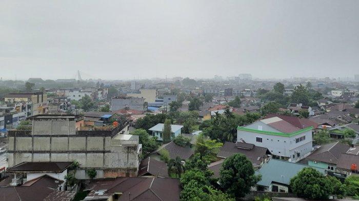 BREAKING NEWS: Prakiraan Cuaca, Pagi Hingga Malam Ini Hujan akan Guyur Sebagian Wilayah Riau