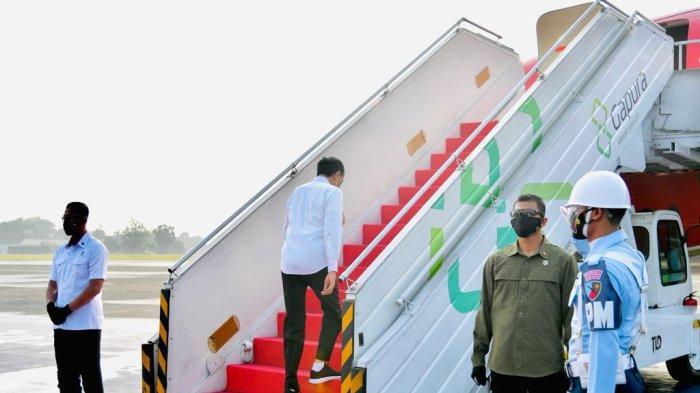 BREAKING NEWS: Presiden Jokowi Berkunjung ke Riau, Sudah Bertolak Berangkat Jakarta, Ini Agendanya