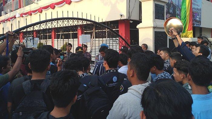 Sempat Diamankan dan Dimintai Keterangan di Polda Riau, Presma Universitas Riau Akhirnya Dipulangkan