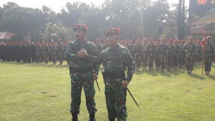 Brigjen TNI Rochadi Dilantik Sebagai Komandan Pasukan Elite TNI Koopssus yang Baru Diresmikan