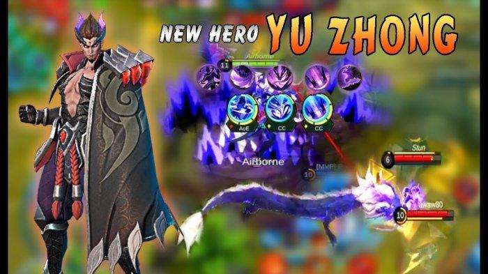 Build Item Hero Yu Zhong, Hero Terbaru Mobile Legend Rilis Bulan Mei 2020?
