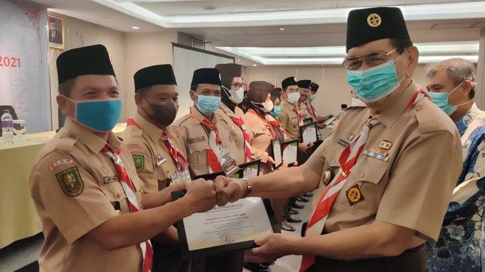 Buka Rakerda 2021, Ketua Kwarda Riau Ingatkan Pentingnya Pramuka Garuda dan Satuan Karya Pramuka