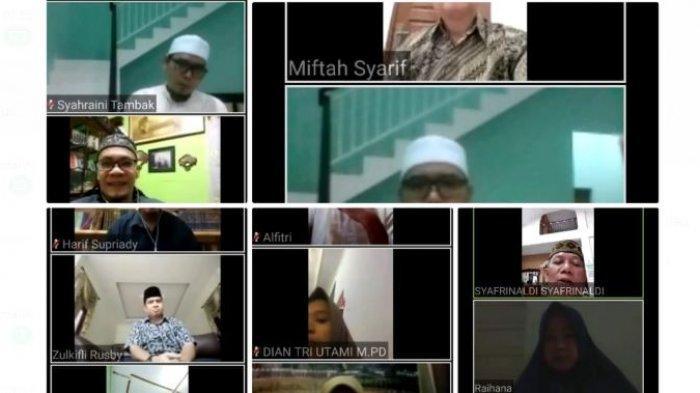 FAI Universitas Islam Riau Pelopori Buka Puasa Bersama Virtual, Rektor Prof Syafrinaldi Ikut Hadir