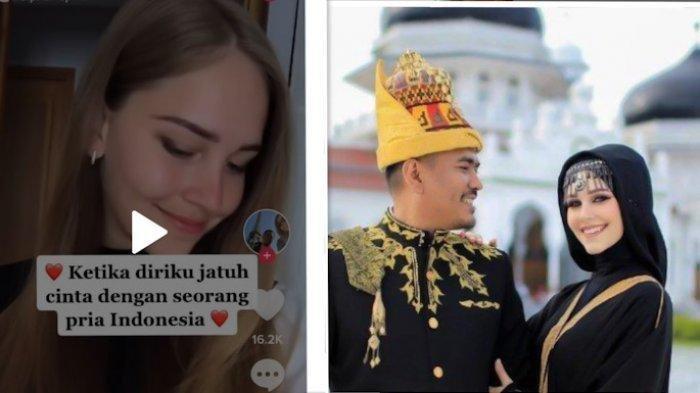 Bule Perancis Kepincut Pria Aceh,  Pindah Agama Islam, Menikah & Mantap Ikut Suami Tinggal di Aceh