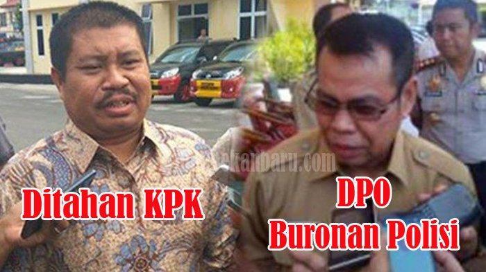 BUPATI Ditahan KPK, Plt Bupati Buronan Polisi, Gubernur Riau Syamsuar Khawatir, Lapor ke Mendagri