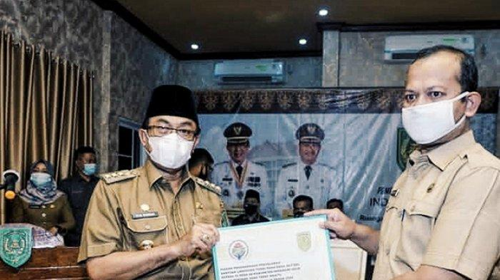 BIKIN Bangga, 26 Kades di Inhil Riau Dinobatkan Kemendes PDTT RI Sebagai Penyalur BLT Tepat Waktu