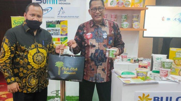 Pekan Sagu Nusantara, Bupati Meranti Sampaikan Kendala Pemasaran Sagu Kepada Kabulog Budi Waseso