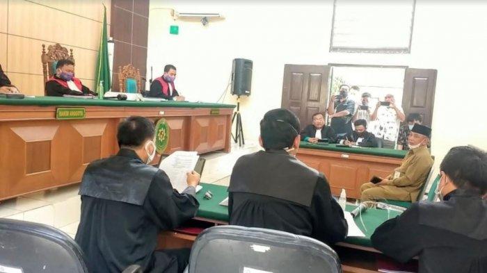 Bupati Harris Jadi Saksi Sidang Karhutla PT Adei di Pengadilan Negeri (PN) Pelalawan