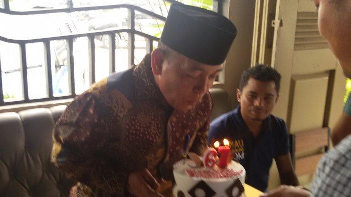 Bupati Harris Deklarasikan Maju di Pilgub Riau Tepat pada Ulang Tahunnya yang ke-67