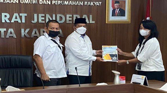Bupati Siak Jumpai Dirjen Cipta Karya Kementrian PUPR, Ajukan Proposal Pembangunan Siak 2022