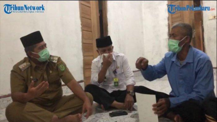Hati Bupati Siak Meleleh Baca Chat WA Crew KRI Nanggala Sertu Eki, Pesan pada Ayah Bikin Merinding