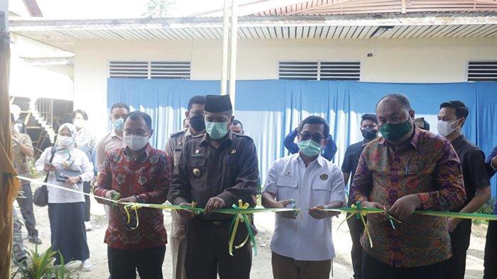 Gandeng PT CPI dan Unilak, Bupati Siak Launching Bank Sampah di Minas, Ini Harapan Alfedri