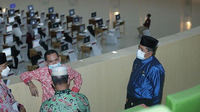 2.844 Orang Ikuti SKD CPNS Siak di Gedung Daerah Siak, Bupati Tinjau Lokasi, Ini Katanya