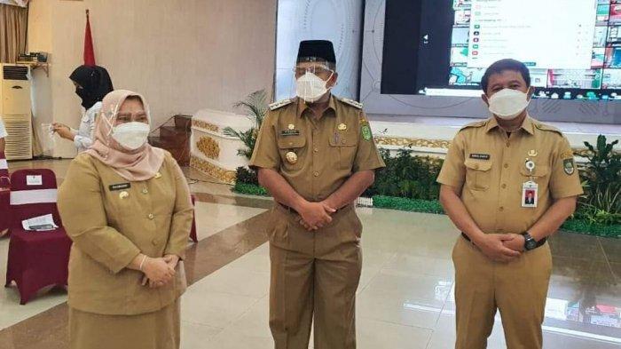 Bupati Siak Hadiri Pertemuan Presiden Jokowi di Pekanbaru, Ini yang Dibahas