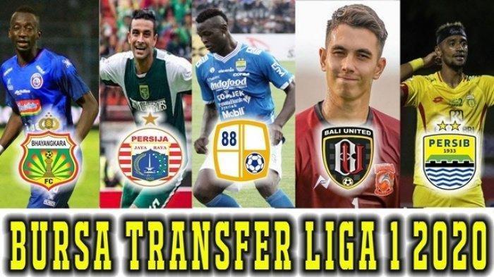 Bursa Transfer Liga 1 2020: Persib Bandung Lepas 2 Pemain, Persija 7 Pemain, Persebaya Borong Pemain