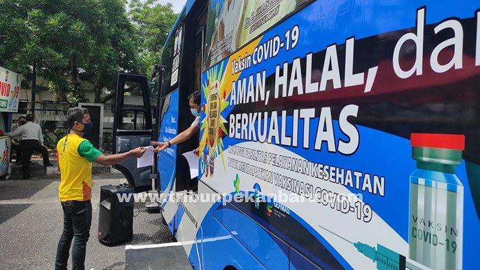Khairunnas Murka Camat Rumbai Barat Tolak Bus Vaksin, DPRD Pekanbaru: Program Ini Harus Sukses