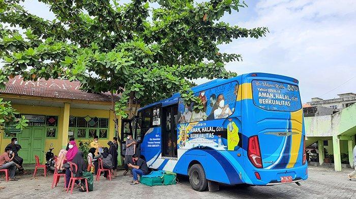 Jadwal dan Lokasi Bus Vaksinasi Covid-19 Keliling di Pekanbaru Hari Ini Selasa 29 Juni, Ada 10 Bus