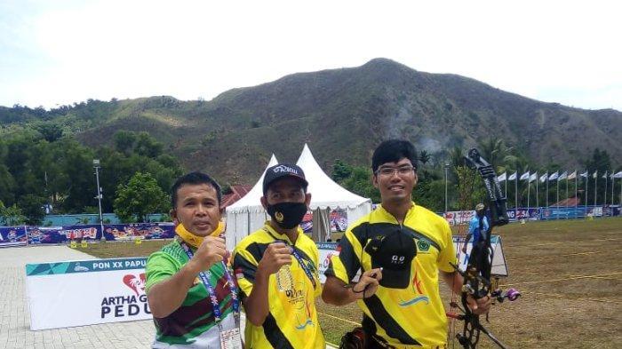 Riau Raih Emas Lagi Lewat Panahan di PON 2021 Papua, Yogi Pratama Kalahkan Wakil Jabar dan Bali