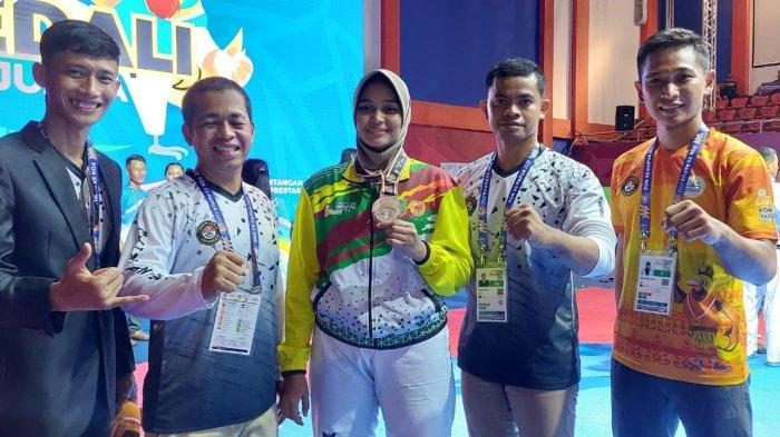Cabor Taekwondo Ikut Andil Sumbang Perak untuk Riau di PON Papua