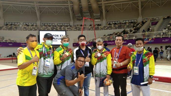 Cabor Senam Raih 1 Perak dan 1 Perunggu untuk Riau di PON Papua
